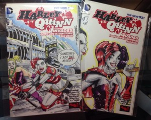 2 harley quinn covers