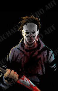 Michael Myers (2014. Colors by John Horton)