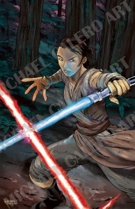 Rey  (2015. Colors by John Horton)